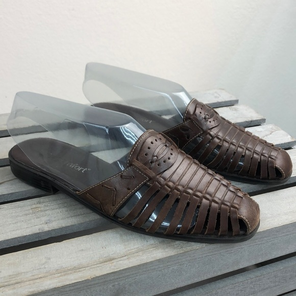 Real Comfort Shoes | Brown Leather
